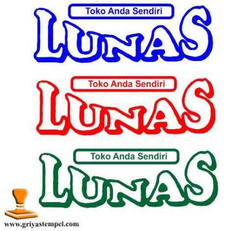 Stempel Lunas Warna